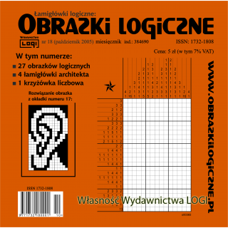 Obrazki logiczne 2005.10<br>nr 18