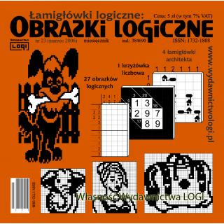 Obrazki logiczne 2006.03<br>nr 23