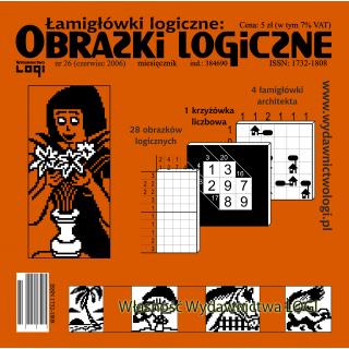 Obrazki logiczne 2006.06<br>nr 26