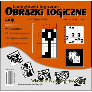 Obrazki logiczne 2006.07<br>nr 27