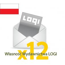 Logi-Mix prenumerata roczna krajowa