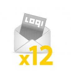 Logi-Mix<br>prenumerata roczna<br>zagraniczna