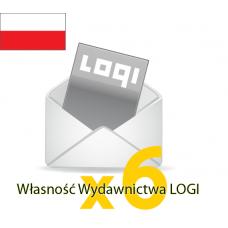 Logi-Mix prenumerata półroczna krajowa
