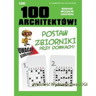 100 Architektów 9 numerów, od 1 do 9<br>10% taniej