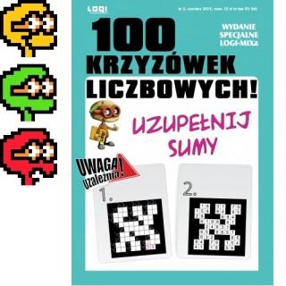 2014.06<br>100 Krzyżówek liczbowych nr 2