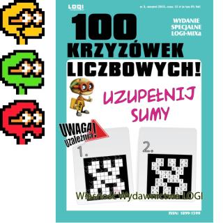 2015.08<br>100 Krzyżówek liczbowych nr 3