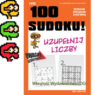 2015.08<br>100 Sudoku nr 1