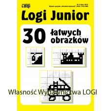 2018.07 Logi Junior nr 4 30 łatwych obrazków
