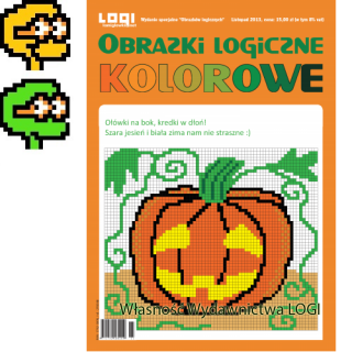 Obrazki logiczne kolorowe<br>2013.10<br>Wydanie Specjalne A4