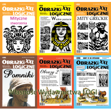 Wielopak Obrazki logiczne XXL x 6 - Kultura i wiedza