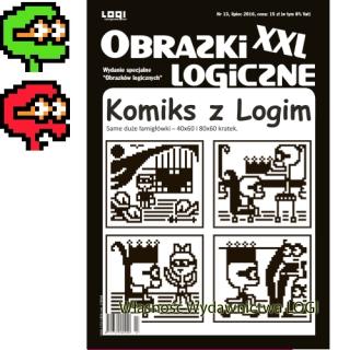 2016.07<br>Komiks z Logim<br>24 duże obrazki