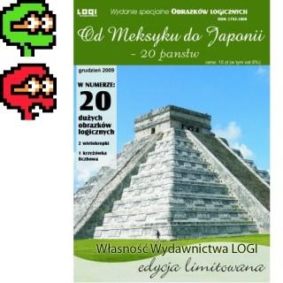 2014.07<br>Od Meksyku do Japonii<br>20 dużych obrazków<br>Egzemplarz wadliwy