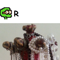 _Puzzel nr 14, sredni Rotacja Stojak na biżuterię