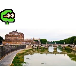 Puzzel nr 3, średni<br>Rzym, rzeka Tyber