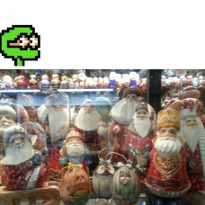 Puzzel nr 9, średni Mikołaje Praha
