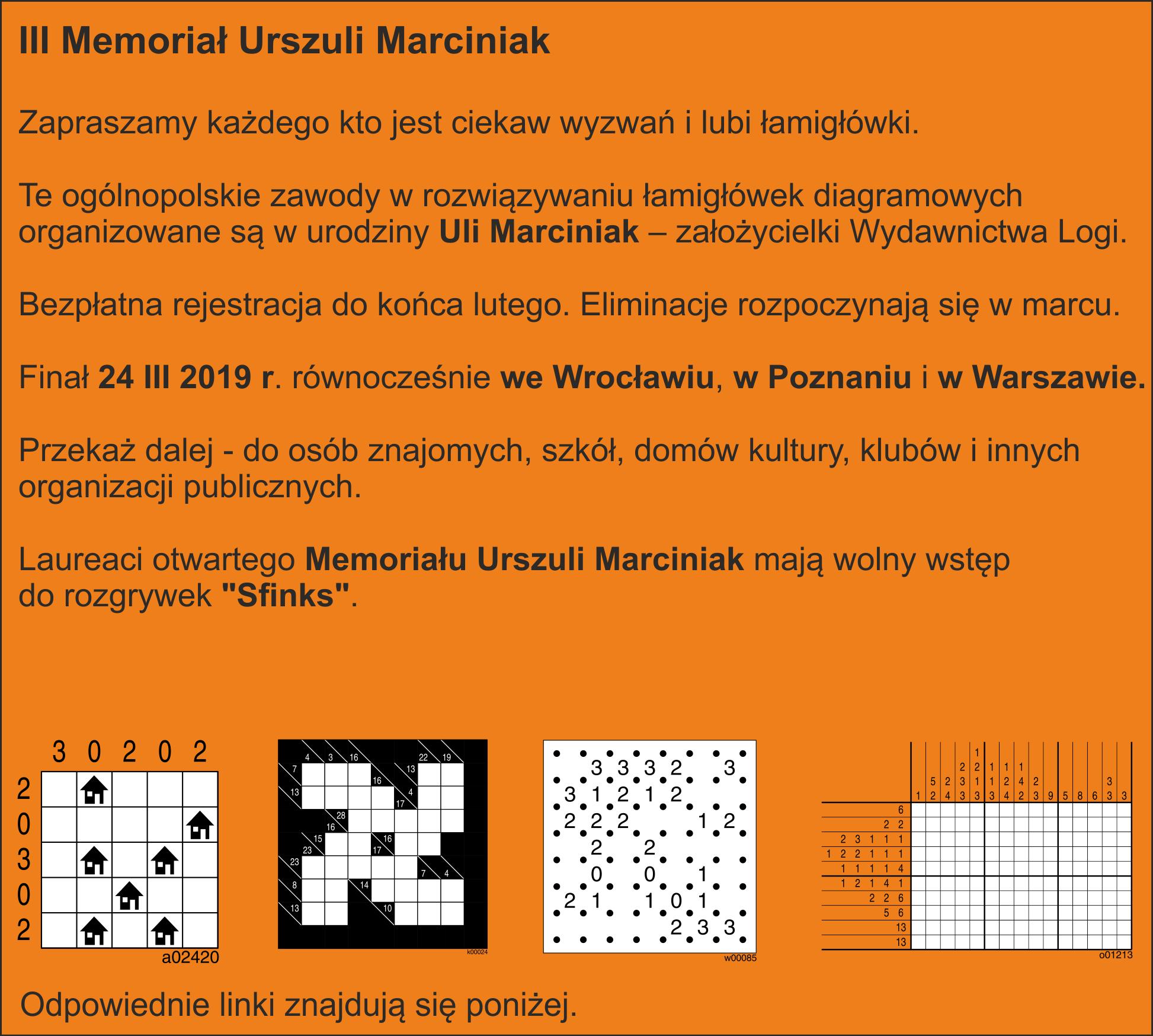 III Memoriał Urszuli Marciniak